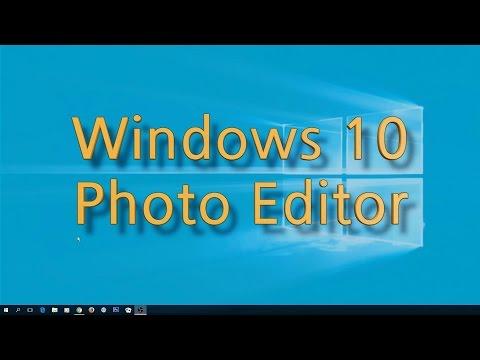 Windows 10 Photo Editor