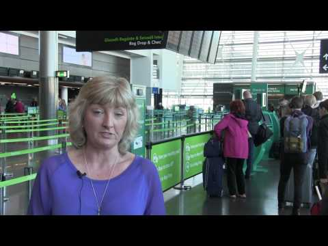 Self Bag Drop at Dublin Internation Airport