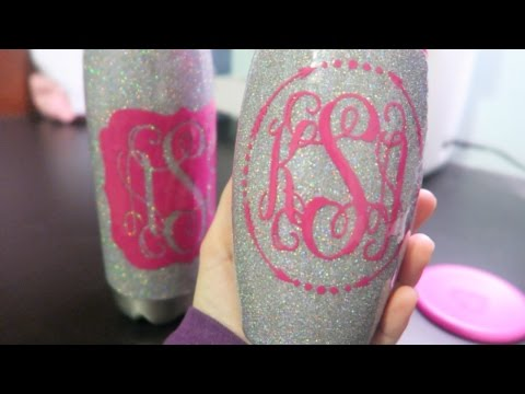 DIY: GLITTER TUMBLER WITH EPOXY