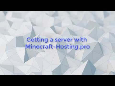 Server Basics | How to get a FREE Server with minecraft hosting pro