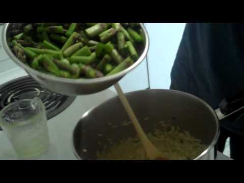 WindsorEats - How To Make Asparagus Risotto With Truffle Oil