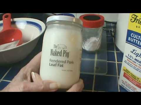 Product Review:  The Naked Pig Rendered Leaf Fat