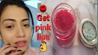 Get Baby Soft and Pink Lips Naturally at Home Bangla/English.DIY Lip Balm For Soft Pink Lips