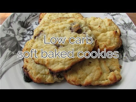 Low carb soft baked cookies