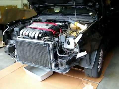 DIY Radiator Replacement 1994 VW Jetta MK3