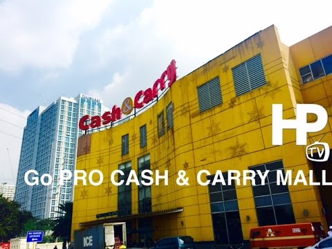 GoPRO Cash & Carry Mall Makati Walking Tour Overview by HourPhilippines.com