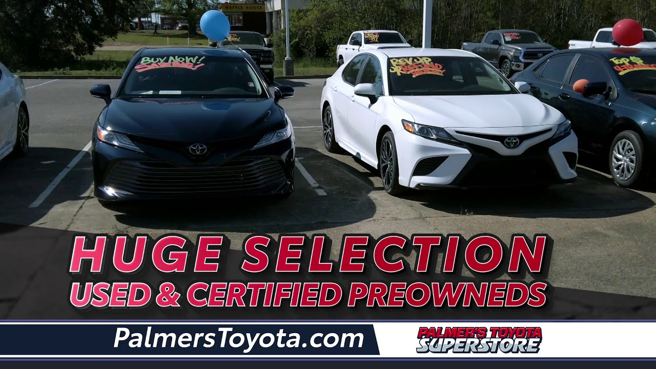 Palmers Toyota - Huge Used Car Selection