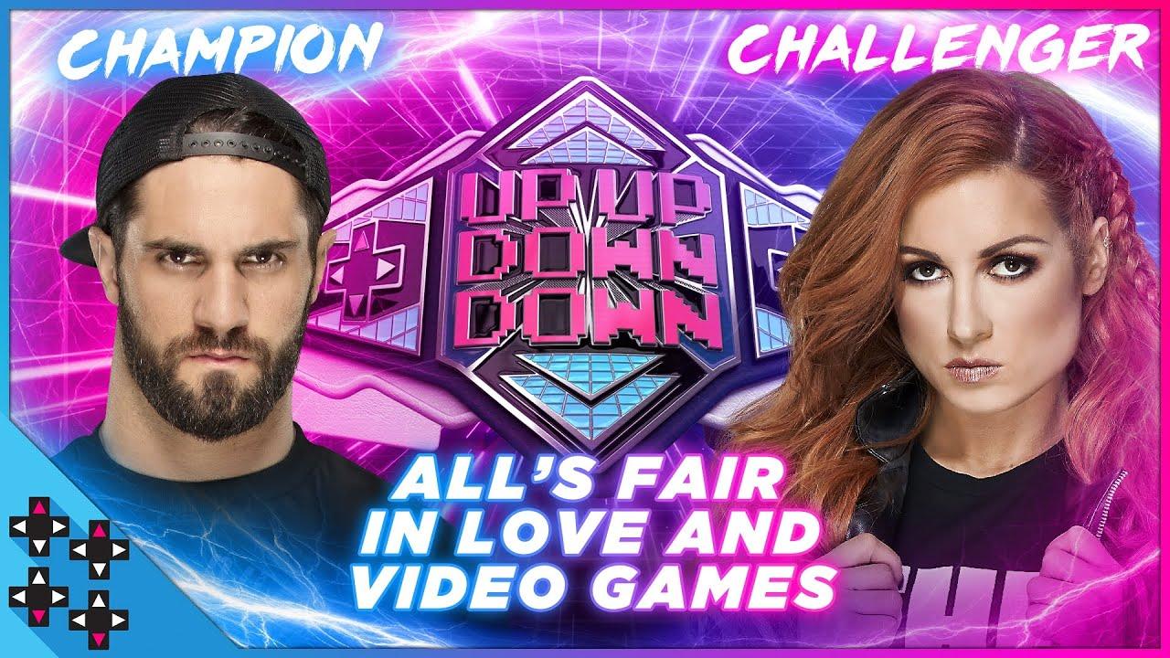 SETH ROLLINS vs. BECKY LYNCH: UpUpDownDown Championship Match