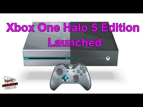 Xbox One Halo 5 Edition is Now Unveiled