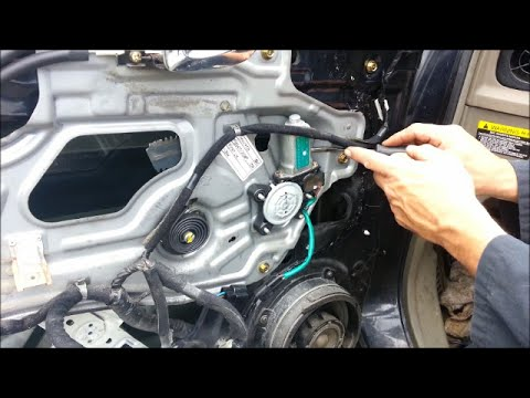 Power window motor replacement - 2004 Hyundai Santa Fe