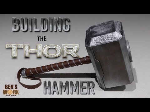 HOW TO MAKE THOR'S HAMMER **Diy Costume**