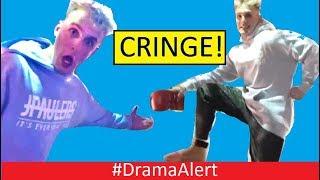 Jake Paul vs Deji (FOOTAGE) #DramaAlert RiceGum BANNED! Logan Paul Saved by YouTube CEO! KSI