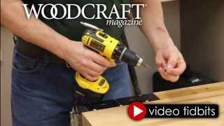 Drill Magnet Tip Video by Woodcraft Magazine