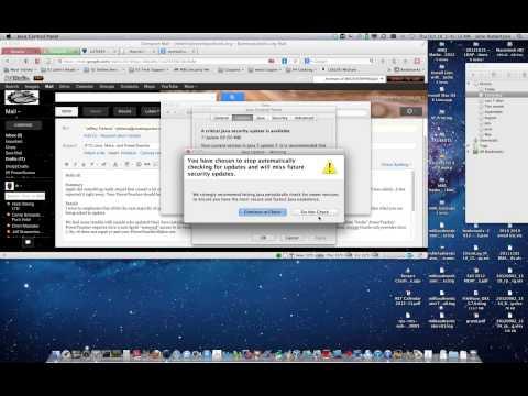 PowerTeacher Turning off auto Java updating