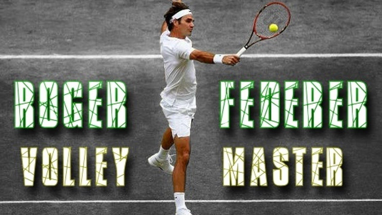 50 Ridiculously Good Volleys by Roger Federer