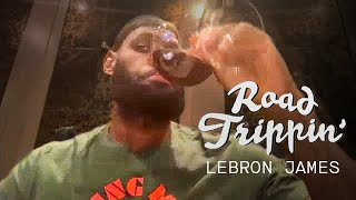 LeBron Makes His Prediction on How the NBA Season Will Return | Road Trippin'