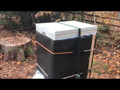 Winterizing a Beehive