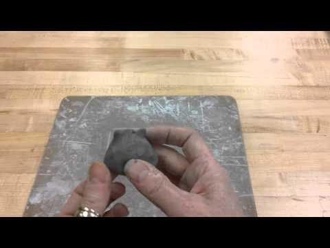 kindergarten Clay Kitty- Lesson 2 making ears