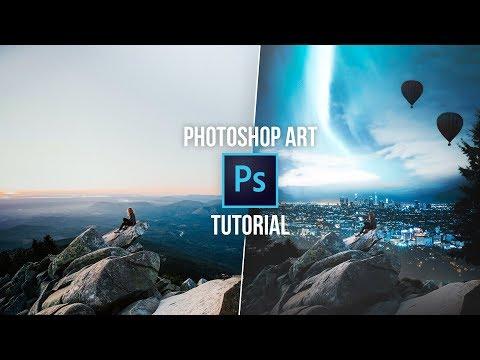 HOW TO CREATE PHOTOSHOP ART! (#Photoshop) Photoshop manipulation tutorial | TechGenieT3G