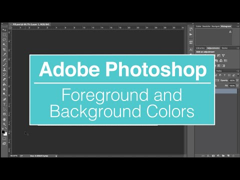 EVF Tutorial – Foreground and Background Colors in Photoshop