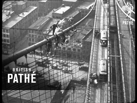 Pathe Cameramen Are Everywhere! Aka Painting Brooklyn Bridge (1920)