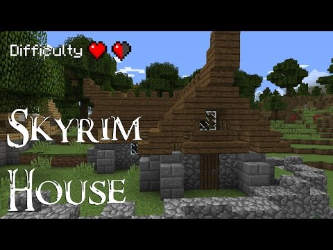 Minecraft - How to build a Skyrim style house