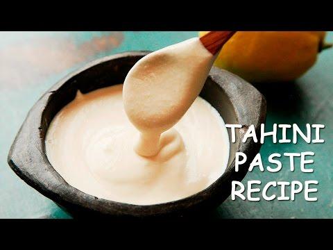 HOMEMADE TAHINI Recipe ♥ How To Make Tahini Paste ♥ Tasty Cooking