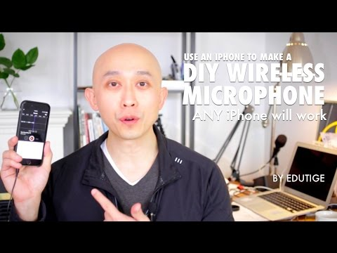 How To Make a DIY Wireless Microphone Using an iPhone