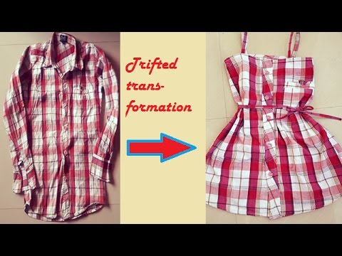 DIY: transform your old shirts, Refashion of old clothess