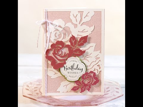 HOW TO MAKE ANNA GRIFFIN FLORAL CARD