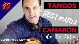 COMO TOCAR ROSA MARIA, CAMARON DE LA ISLA. Jerónimo de carmen-Guitarra Flamenca