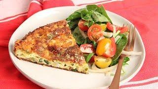 Oven Zucchini Frittata Recipe | Episode 1256