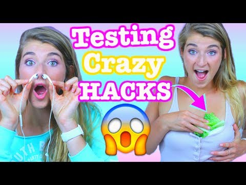 TESTING WEIRD LIFE HACKS!