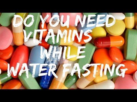 WATER FASTING: Should you take Vitamins, BCAA's, ACV