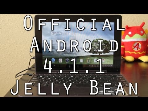 How To Update your Unlocked Transformer Prime to OFFICIAL Android 4.1.1 Jelly Bean