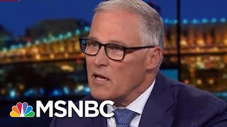Governor Jay Inslee Announces Exit From Democratic Primary Race | Rachel Maddow | MSNBC