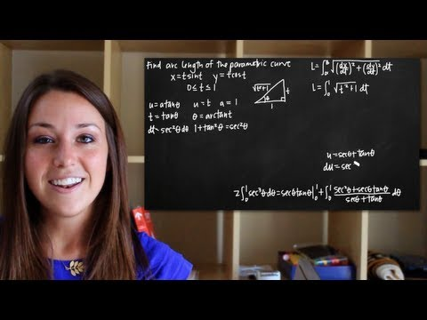 Parametric arc length (KristaKingMath)