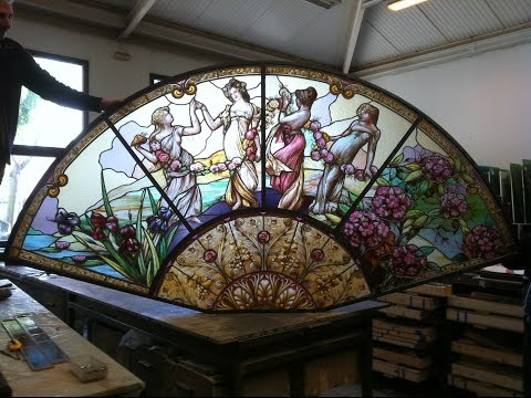 How to make stained glass : Secrets of glass assembly by France Vitrail International