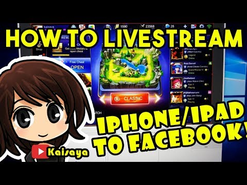 How to livestream on Facebook from your iOS (iPhone/iPad) device