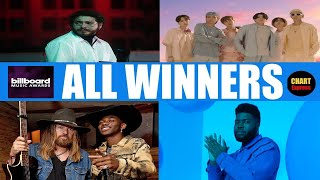 BBMA 2020 - ALL WINNERS | 2020 Billboard Music Awards | October 14, 2020 | ChartExpress