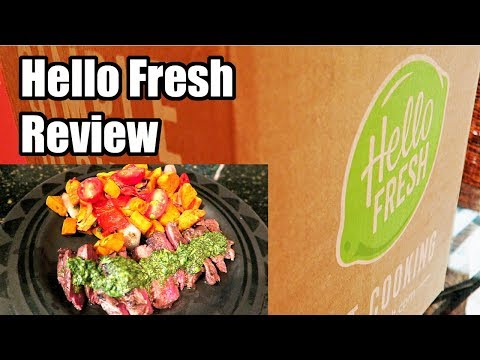Hello Fresh Meal Kit Delivery Review! Not Sponsored - Unbiased!  2018