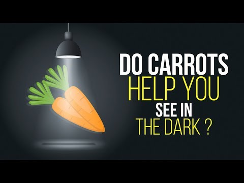 Do Carrots Help You See in the Dark ?