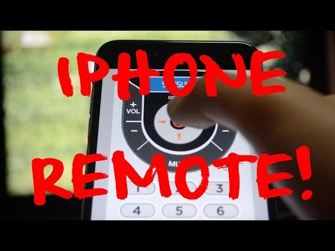 Turn a Phone into a TV remote!