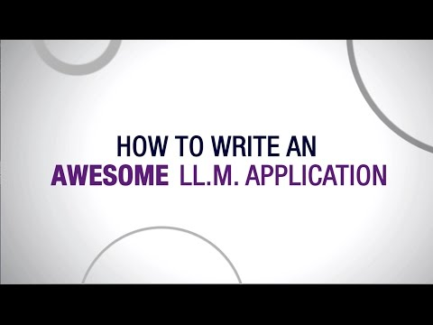 How to write an awesome LLM application, from U of T Law