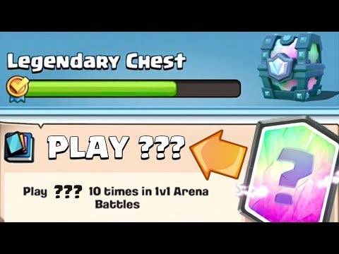 MUST USE THIS CARD TO GET A LEGENDARY?! | Clash Royale