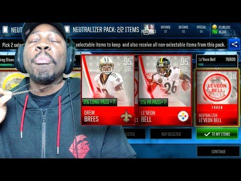 NEW LEAGUE UPDATE & NEUTRALIZER PACK OPENING! Madden Mobile 18 Gameplay Ep. 17