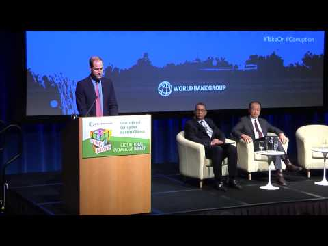 Jim Kim and Prince William: International Approach Needed for Fighting Corruption