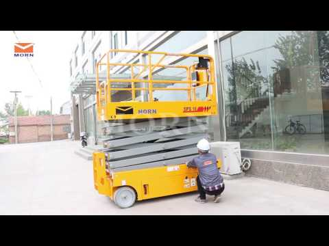 Demonstration Video/ How to operate self-propelled scissor lift from MORN® LIFT?