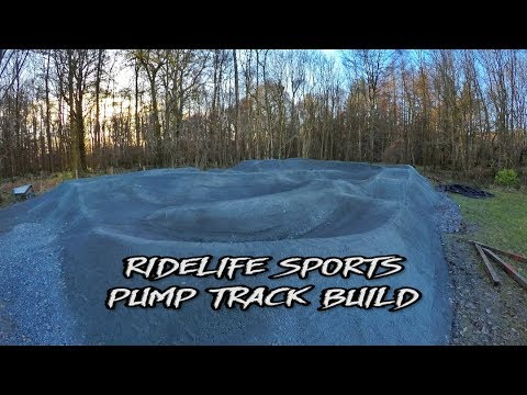 How to build a Pump Track in 5 Minutes | Ridelife Sports | MTB BMX | GoPro