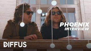 Phoenix - The Ti Amo Interview | DIFFUS